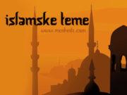 Islamske teme, islamski tekstovi, poucni tekstovi