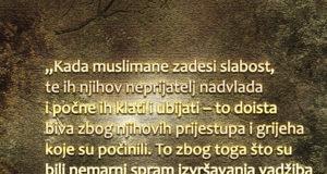 Zašto muslimani doživljavaju patnje i nedaće