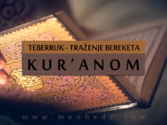 traženje bereketa Kuranom