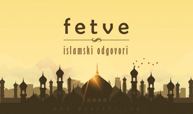 fetve, odgovori iz islama