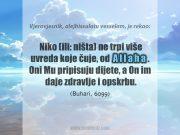 sabur uzvisenog Allaha
