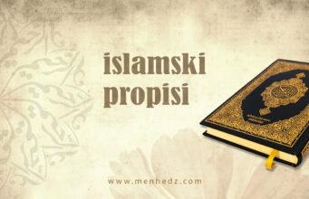 islamski propisi
