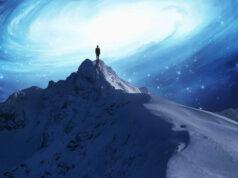čovjek, planina, svemir
