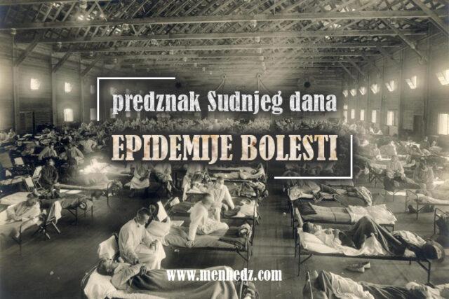 predznak Sudnjeg dana - epidemije-bolesti