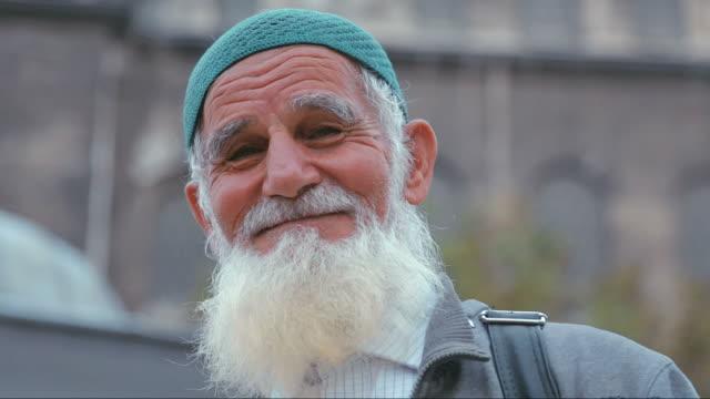 Portret muslimana sa bradom